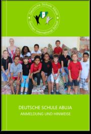 Deutsche Schule Nigeria, Anmeldung und Hinweise